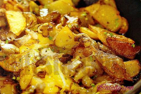 белые грибы жареные с картошкой рецепты